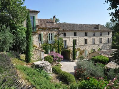 Photo for Charming 2 bedroom, 2 bath in Provencal Chateau -heart of Provence