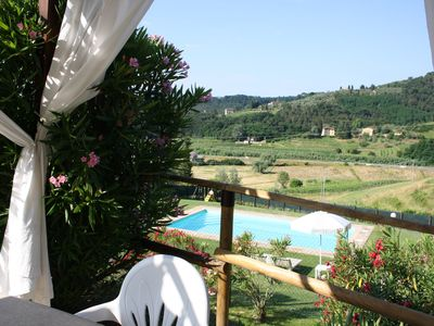 Photo for Holiday Apartment I Cipressi - Lovely house in country for family with pool