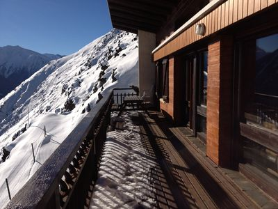 Photo for Unobstructed view at the foot of the slopes Large chalet of 120 M2 all comfort