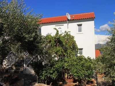 Photo for One bedroom apartment with balcony and sea view Korčula (A-9158-c)