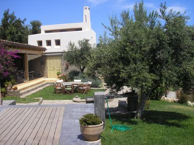 Photo for Situated at a panoramic location in the middle of vineyards and olive groves