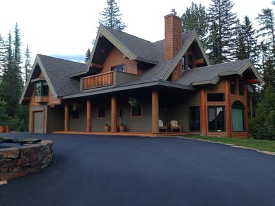 Photo for Ferniehouse - Ski in Chalet, Luxurious, Large decks,  80 Jet Hot-tub,