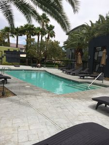 Pool at clubhouse and Spa jacuzzi