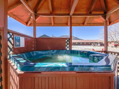 Photo for Two comfortable cabins w/ shared hot tub -  in the heart of South Fork - dogs OK