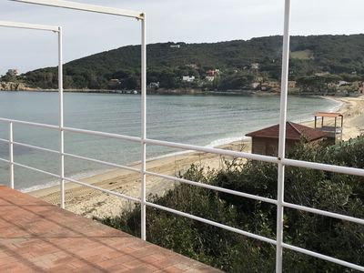 Photo for House in a beautiful place  with direct access to the sandy beach of Procchio  with wonderful sea-vi