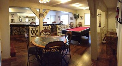 Photo for Large townhouse 1/2 mile from midtown.  Bar / Gameroom. Great deck & grill