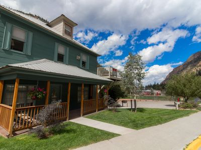 "Photo for OURAY HOT SPRINGS ""GARDEN VIEW""  LOWER CONDO"