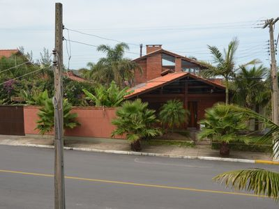 Photo for Exclusive - Beachfront beach house with pool, ideal for families in sand