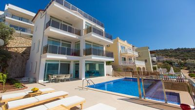 Photo for Villla Sezen situated in Kalkan's Kisla Bay is a mere 250 meters from the sea.