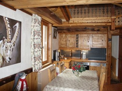 Photo for Charming 80-sq.m duplex apartment in Savoyard style with luxurious amenities