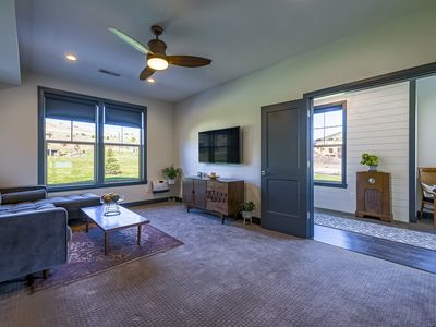 Photo for Entire 1st Floor Near Resorts and Mt Biking Trails-New Home