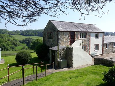 Photo for The Hayloft is a relaxing rural retreat by the sea.