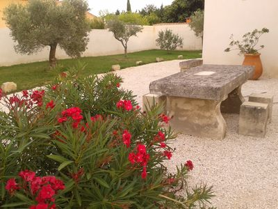 Photo for Gite du Petit Mandon-Arles-Crau-Camargue: a house for 2/3 people spa