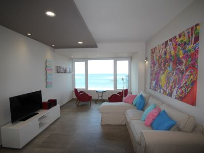 Photo for Luxury Apartment first line of the Playa de Las Canteras.