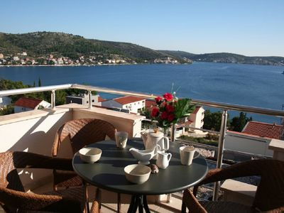 Photo for Spacious 3 Bedroom Apartment with Sea View, just 250m from beach