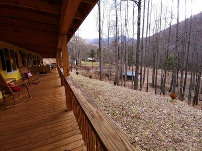 Photo for Stoney Fork Lodge on beautiful Mineral Creek in Pisgah Nat Forest