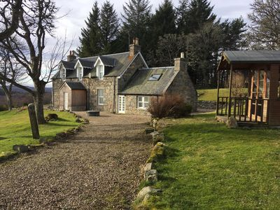 Photo for Fantastic spacious farmhouse with stunning views of Cairngorms