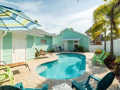 Photo for Pool Home: Steps Away From White Sand Beaches!