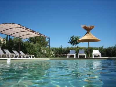 Photo for Beautiful farmhouse of 200 m2, hosting 10 people with heated pool