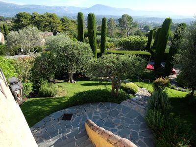 Photo for Charming Villa on the French Riviera in a Private Estate next to Cannes.