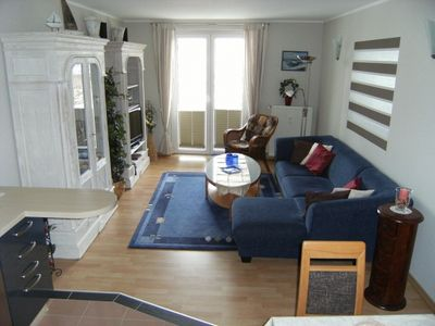 Photo for Duhner Düne Apartment 4, non smoking, WiFi, lift, balcony, beach chair on the beach (seasonal)