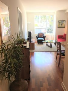 Photo for Bright, modern 1-bedroom condo with parking, for 1-3 months, available  5/1/2018