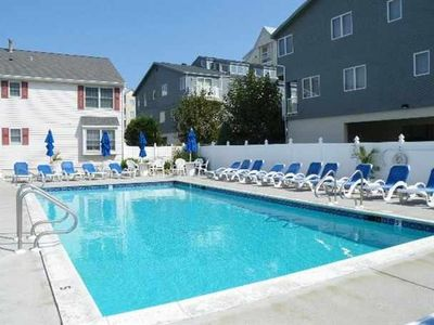 Photo for Beautiful Condo With Heated Pool, One Block From Private Beach - Diamond Beach