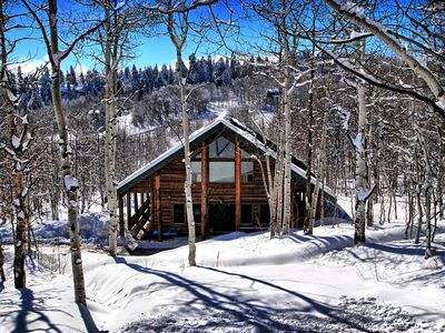 Photo for Rustic Cabin Getaway, Perfect for Large Groups