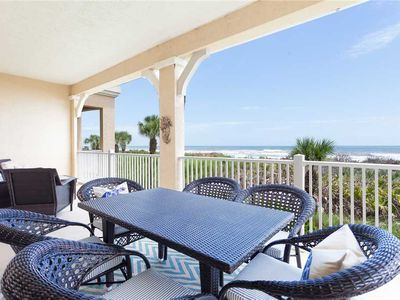 Photo for 725 Cinnamon Beach, 3 Bedrooms, Ocean Front, Pool Access, WiFi Sleeps 8