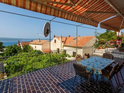 Photo for Holiday apartment Dramalj for 4 - 6 persons with 3 bedrooms - Holiday apartment