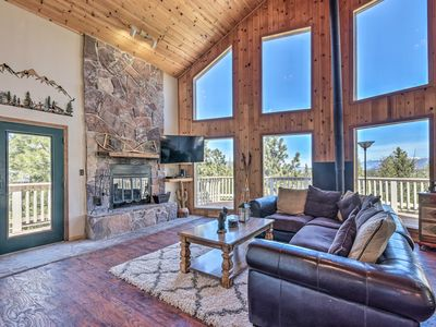 Photo for NEW! Cabin w/Deck 2 Minutes from Angel Fire Resort