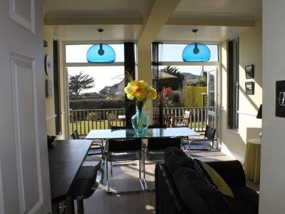 Photo for Croyde, Devon. Stunning luxurious 3 bed flat, minutes from beach. Sleeps up to 8