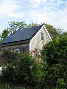 The only solar powered cottage in Truro!