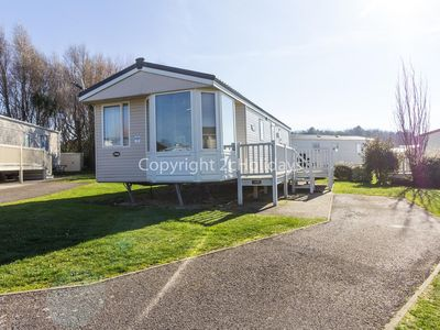 Photo for Luxury caravan for hire at Manor park holiday park in Hunstanton ref 23018