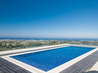 Photo for Villa Saranta Gold - Exquisite 3 Bedroom Protaras Villa with Private Pool and Panoramic Views