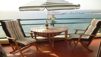 Photo for Boat View 2 - 1 bedroom apartment with fabulous sea views