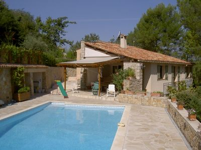Photo for Family villa in Provence: pool, playgrounds, sleeps 10, flexible A/D dates.