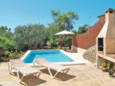Photo for 2 bedroom Villa, sleeps 4 in es Llombards with Pool and Air Con