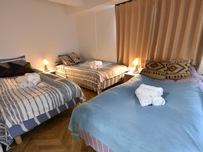 Photo for Osaka city center, 4 minutes walk from station, convenient transportation, spacious room, free luggage storage