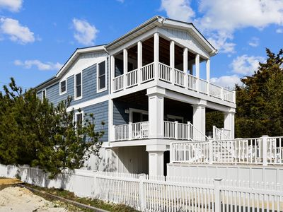 Photo for Outstanding  large Beach House on the Ocean Side with a  private heated Pool!