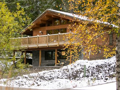Photo for Cozy Cabin in the Fernie Woods