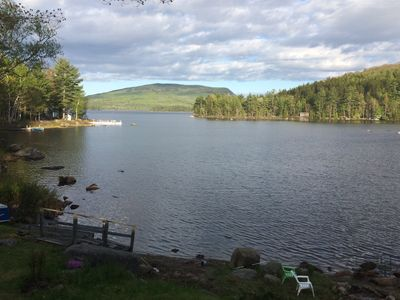 Photo for Lakefront Home On Beautiful Donnells Pond,32 miles From Acadia N P and Bar Harbr
