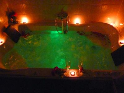 Photo for Cottages with Jacuzzi for two people