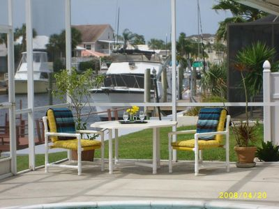 Photo for Beautifully Furnished Home with Pool and Boat Dock