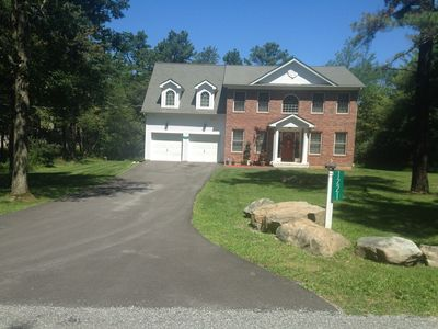Photo for Magnifizent Mountain home in The Poconos.