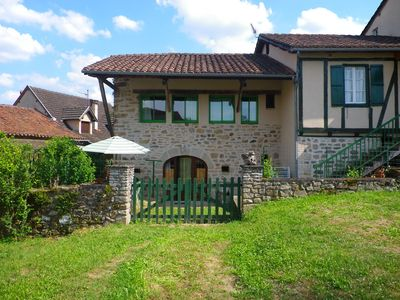 Photo for Traditional stone house, renovated and mod cons close to Figeac