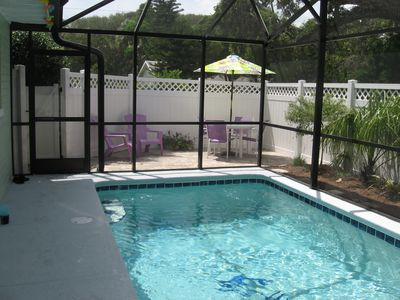 Photo for Best Location! Walk to beach & Flagler. Heated pool.