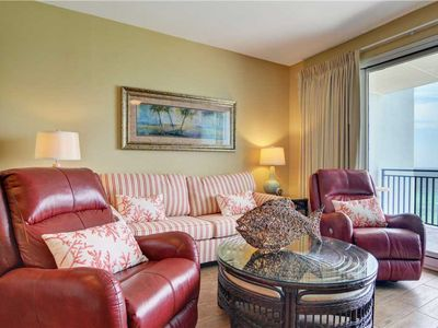 Photo for Condo with Incredible Views, Charming Decor, Gulf View