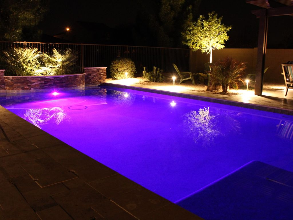 Phoenix Gilbert Arizona Paradise Big Backyard With Large