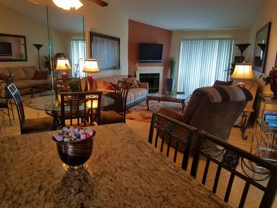 Photo for NEW!!  Fabulous 2BR 2BA UPSCALE EVERYTHING!  FREE HBO!!  GOLF, POOLS, TENNIS